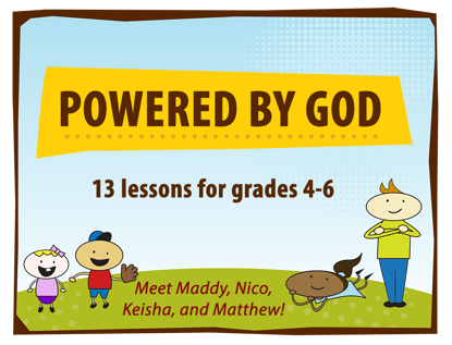 Picture of Powered By God curriculum