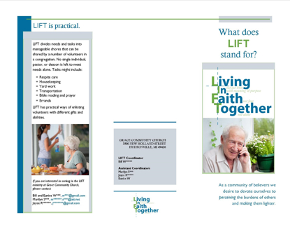 Picture of LIFT Promotion Brochure